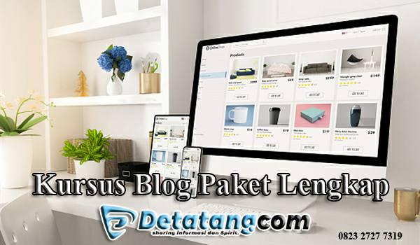 Kursus blog paket lengkap
