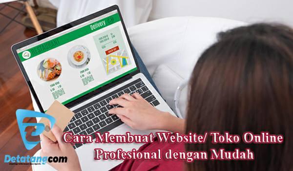 Cara membuat website bisnis online